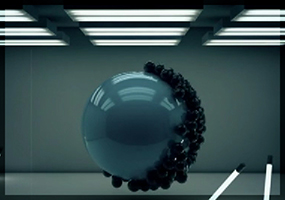 Animated Spheres Video